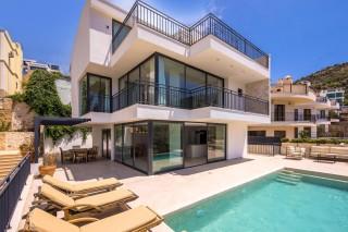 Villa Kışla, 4 Bedroom Villa with Infinity Pool | Kalkan Villa