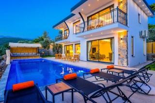 Villa Risus, Villa for Rent with Nature View | Kalkan Villa