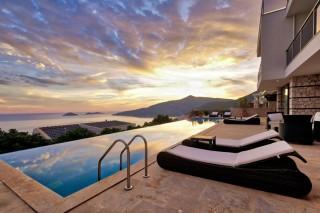 Villa Katia, Kalamar Bölgesi'nde, 12 Kişilik Lüks  | Kalkan Villa