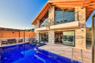 Villa Salt, Doğa Manzaralı Kiralık Villa | Kalkan Villa