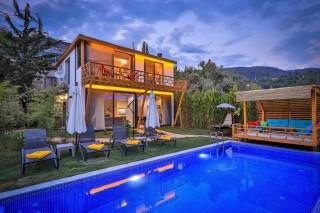 Villa Lina, Muhafazakar Lüks Villa | Kalkan Villa