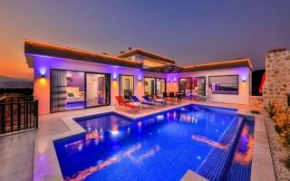 Villa Aşiyan, Honeymoon Villa For Rent In Patara | Kalkan Villa