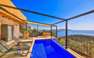 Villa Abosa, Kaş'ta 2 yatak odalı kiralık villa | Kalkan Villa