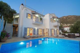Villa Serin, 5 bedroom villa for rent in Kalkan Center