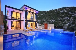 Villa Falez, Deniz ve Doğa Manzaralı, Balayı Villası|Kalkan Villa
