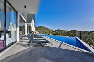 Villa Trio, Villa for Rent with Sea and Nature View | Kalkan Vill