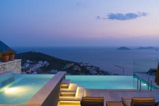 Villa Safran View, Deniz Manzaralı Lüks Villa | Kalkan Villa