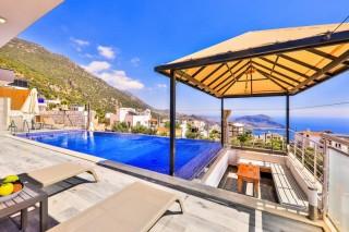 Villa Bebek, 2 Yatak Odalı, Deniz Manzaralı, Lüks | Kalkan Villa