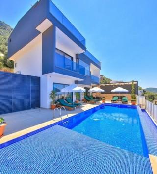Villa Capella, geschützte Villa mit Meerblick | Kalkan Villa