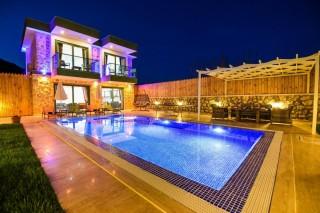 Villa Gamze Saribelen, konservativer Typ, Sauna, Whirlpool | Kalk
