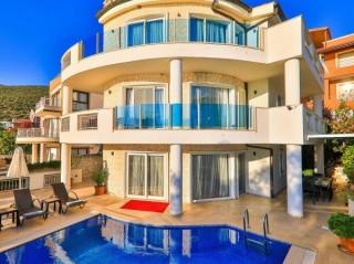 Villa Lena, Kalkan'da Deniz Manzaralı Villa | Kalkan Villa