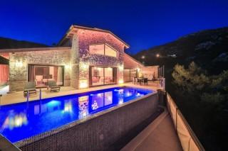 Villa şen, Rental Villa with Heating Pool | Kalkan Villa