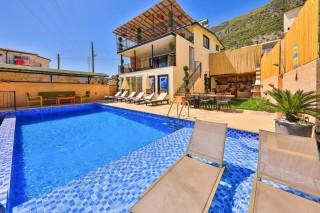 Villa Manolya Gökseki, Villa For Rent In Kas | Kalkan Villa