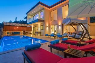 Villa Peso Di Reco, Jacuzzi, Islands View | Kalkan Villa