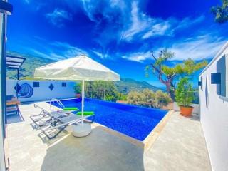Villa Irmak, Nature and Sea View, Honeymoon Villa | Kalkan Villa