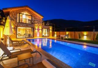 Villa Daffy, Stone and Wood Architecture, Conservative | Kalkan V