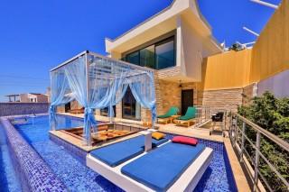 Villa London, Sea View Luxury Villa for 6 Persons in Kalkan