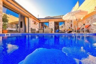 Villa Gökkaya, Kalkan Yeşilköy'de , 2 yatak odalı Villa | Kalkan