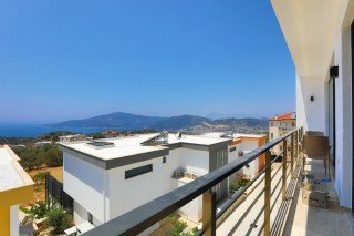 Red Suit Apartments, Jakuzili, Deniz Manzaralı   Kalkan Villa