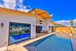 Villa Koru, Saunalı ve Tuz Odalı Kiralık Villa | Kalkan Villa