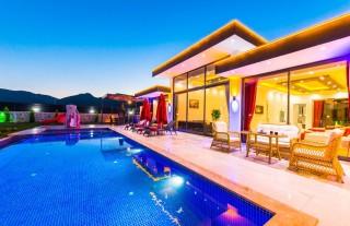 Villa Melek, Muhafazakar Balayı Villası | Kalkan Villa