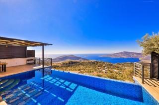 Villa Demir Kördere, Sea View Villa For Rent | Kalkan Villa