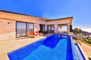 Villa Alaca, Deniz Manzaralı Kiralık Villa | Kalkan Villa