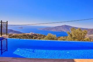 Villa Alaca, Deniz Manzaralı Kiralık Villa   Kalkan Villa