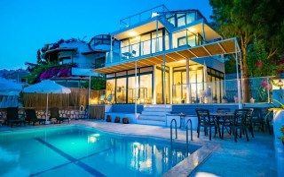 Villa Şerf, Villa mit Meerblick zu vermieten | Kalkan Villa
