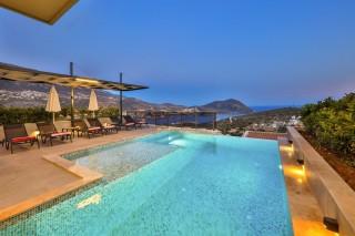 Villa Skylight, Deniz Manzaralı Kiralık Villa | Kalkan Villa