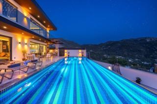 Villa Kuzey Duo, großer Pool, Luxus, Whirlpool | Kalkan Villa