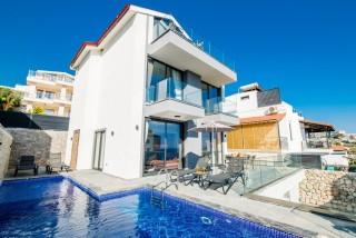 Villa Deida, Deniz Manzaralı, Jakuzi, 10 Kişilik   Kalkan Villa