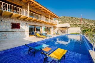 Villa Genova, Garden, Turkish Bath, Sauna, 6 Persons | Kalkan Vil