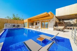 Villa Genova Duo, Garden, Jacuzzi, Playground | Kalkan Villa