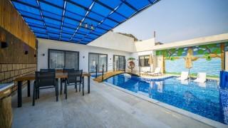 Villa Dimare, Kapalı Havuz, Jakuzi, 4 Kişilik | Kalkan Villa