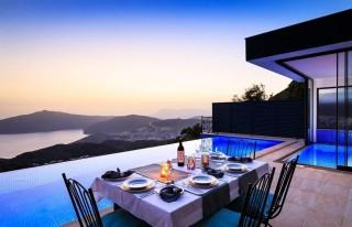 Villa Tepe Ev, Honeymoon Villa with Sea View | Kalkan Villa
