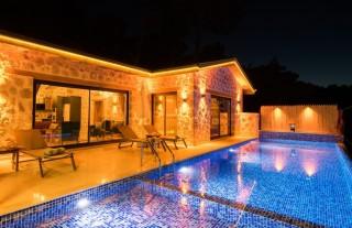 Villa Amber, Konservative Villa mit Blick auf die Natur   Kalkan
