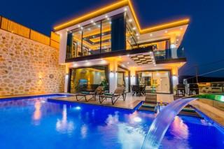Villa Karakaya Patara, Modern Villa For Rent   Kalkan Villa