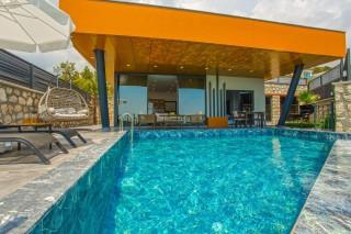 Villa Visa, Honeymoon Villa with Heating Pool   Kalkan Villa