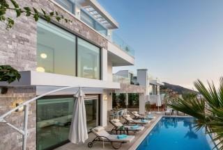 Villa Afsana, is a modern 4-bedroom villa in Kalkan