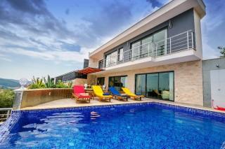 Villa Nature, Deniz Manzaralı Lüks Villa | Kalkan Villa