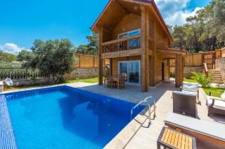 Villa Elisa mit Blick auf die Bucht von Patara