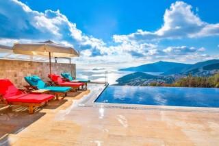 Villa Begonvil, 5 yatak odalı Deniz Manzaralı Villa
