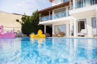 Villa Alkin, Villa mit Meerblick für 10 Personen | Kalkan Villa