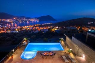 Villa Buse, 5 Bedroom Luxury Villa For Rent | Kalkan Villa
