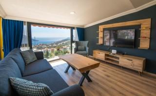 Çatı Apartments, 2 yatak odalı ekonomik lüks daire | Kalkan Villa