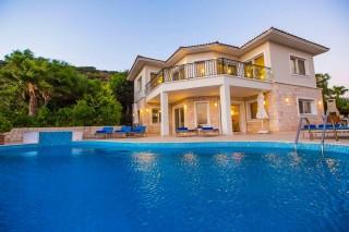 Villa İndigo, Kaş Çukurbağ'da 10 Kişilik Korunaklı | Kalkan Villa