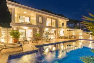 Villa La Mer, Kalkan Kördere'de 4 yatak odalı Lüks Kiralık Villa