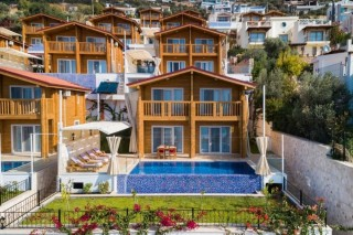 Villa Eco Manolya, Deniz Manzaralı Korunaklı 4 kişilik Villa
