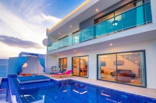 Villa Etiler, Kalkan'da 2 yatak odalı lüks villa | Kalkan Villa